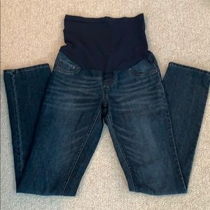 Indigo Blue Tall Maternity Jeans